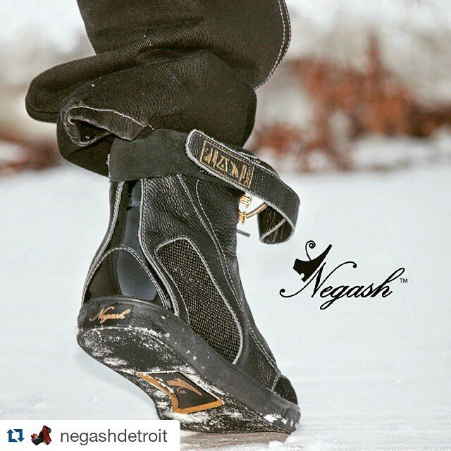 Today's #BlackBizBlast goes to _negashdetroit! These boys are hot!  Winter's comin'; step your boot
