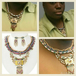 Loving my Rope Necklace from _ammajohnson! Buy yours at www.shopammajo