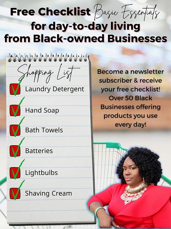 Black-owned Businesses providing every e