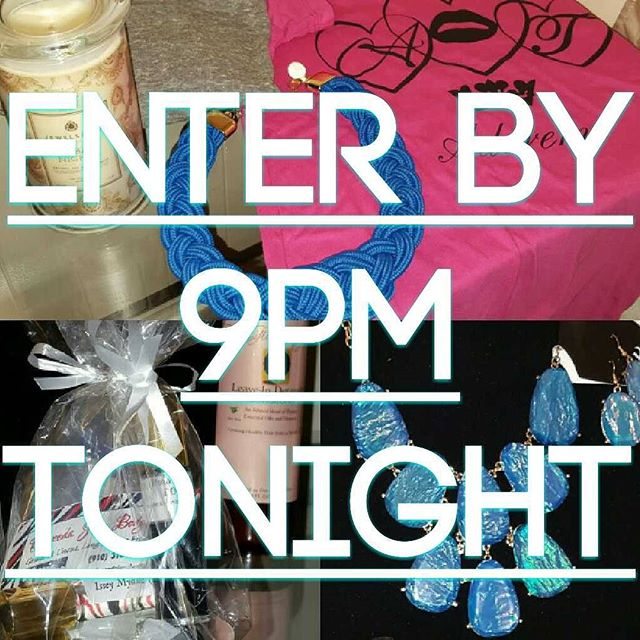 Just in time for the holiday's... WIN free stuff to keep or give away! Enter by Nov. 1st 9pm EST.__C