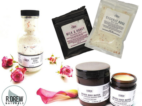 Product Review | R. Drew Naturals, Natural Skin & Personal Care Products