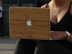 Bonni, Black-owned bamboo Macbook covers