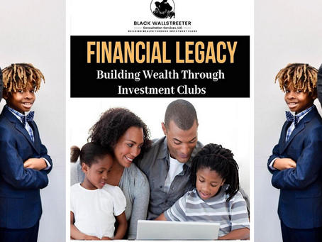 Father, Son Launch Black WallStreeter Consultation Services to Help Others Increase Wealth