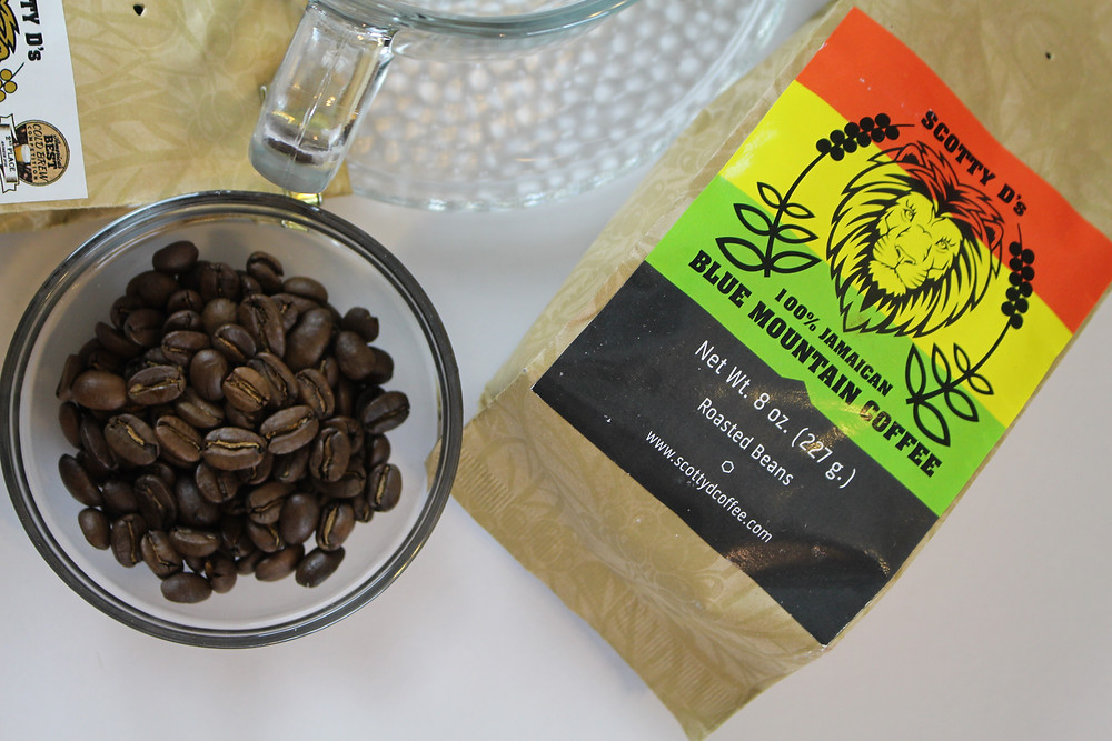 Scotty D's Jamaican Blue Mountain Coffee
