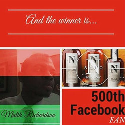 Congrats to Malik Richardson for being Minority Report's 500th Facebook Fan! Malik will receive prod