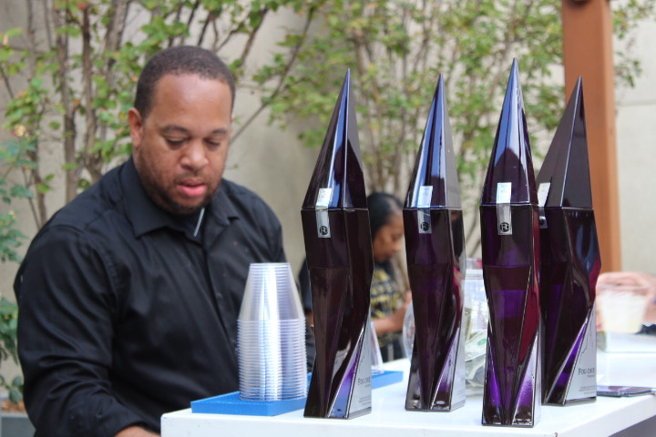 2nd Annual Black Owned Wine and Spirits Festival roof top