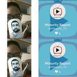 Minority Report on Periscope!