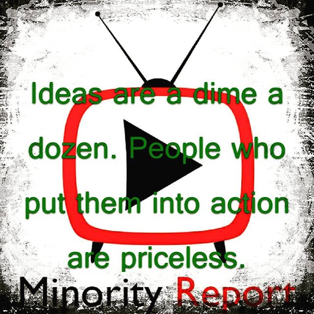 Ideas are a dime a dozen. People who put them into action are #priceless