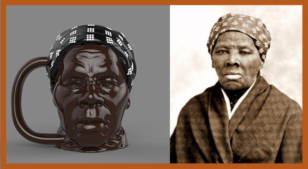 Black As a Mug Harriet Tubman