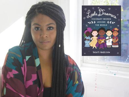 Video: Author, Illustrator Vashti Harrison Reading and Illustration
