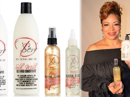 Black Woman Creates Products To Stop Shedding and Grow Thinning Hair