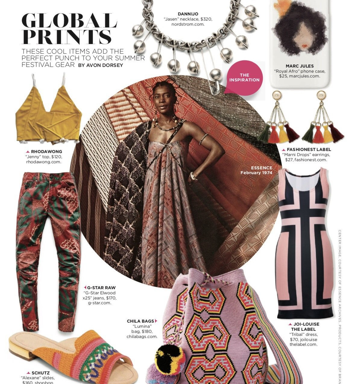 joi louise the label tribal dress as seen in essence