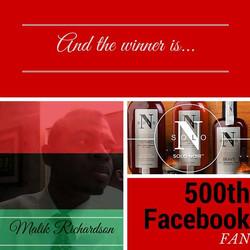 500th Facebook Fan