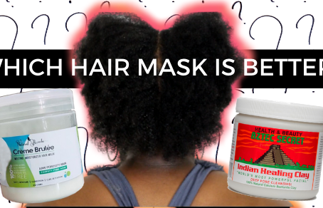 Natural Rizado or Bentonite Clay | Which Mask is Better for Thin, Fine, 4C Hair?