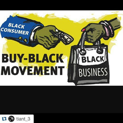 Did you support a black owned business this weekend_ #BeBlack #ThinkBlack #BuyBlack
