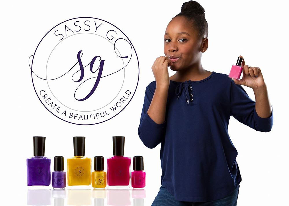 Sassy G, Black-owned nail polish