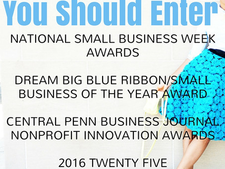 Small Business Awards You Should Apply for NOW! Deadlines are Approaching...