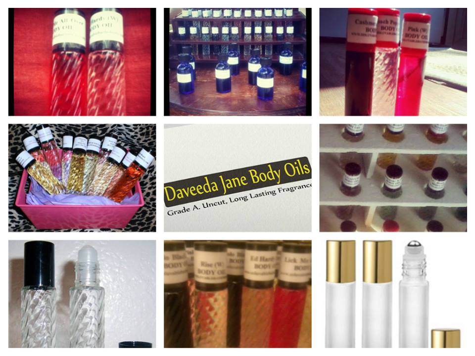 DAVEEDA JANE BODY OILS