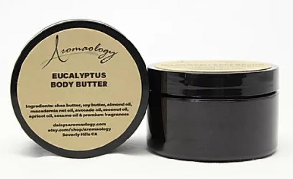 Aromaology eucalyptus body butter