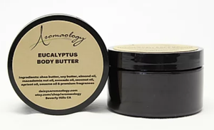 Aromaology eucalyptus body butter