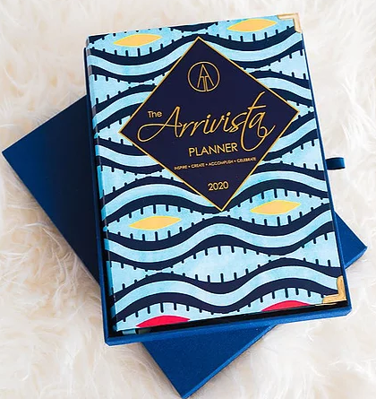 The Arrivista Planner, Black-owned day planner