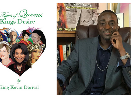 Author Kevin Dorival defines what it means to be a Queen, Book Review