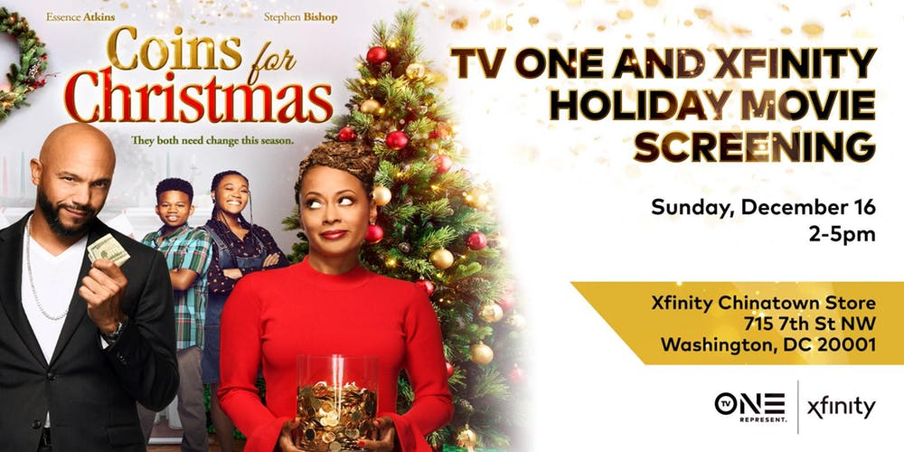 Coins For Christmas Tv One And Xfinity Holiday Screening