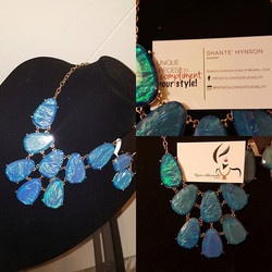 O to _reneealexanderjewelry! This necklace was part of a Minority Report giveaway