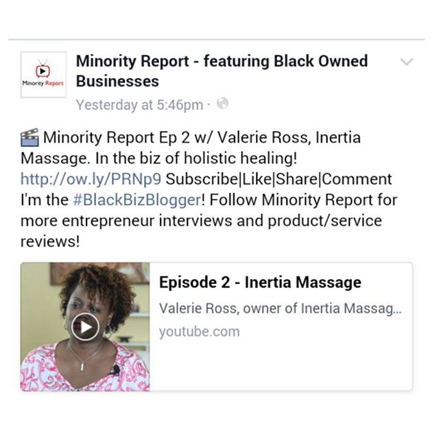 _inertiamassage1! Link in bio! #WomenInBusiness #Hustlers #BlackBizBuzz #BlacksInBiz #BlackBizBlogg