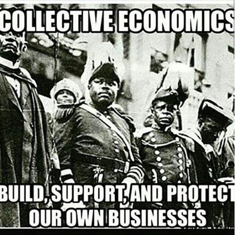 Rebuild and Restore through collective economics! #SupportBlackBiz #BeBlack #ThinkBlack #BuyBlack