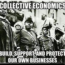 Rebuild and Restore through collective economics! #SupportBlackBiz #BeBlack #ThinkBlack #BuyBlack