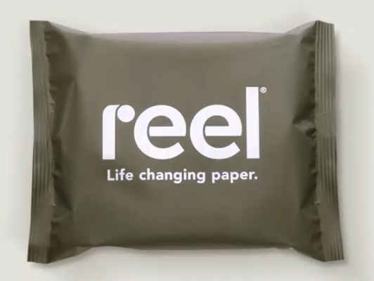 Reel Paper, black-owned sustainable paper products