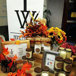 Today's #BlackBizBlast goes to _twhomeessentials! 100% Soy Candles for home or office decor