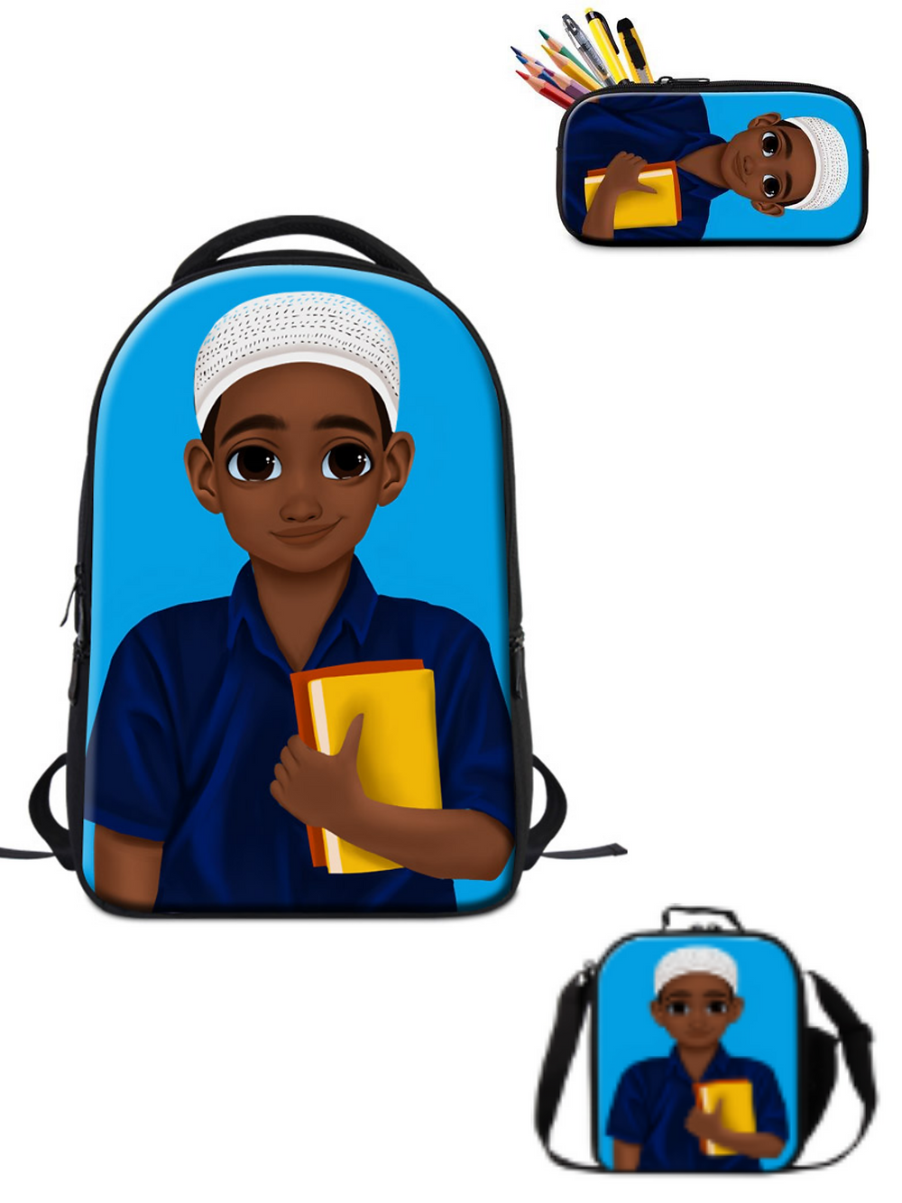 The Black Hijabi, Black-owned school supplies, t-shirts, and more for Muslims
