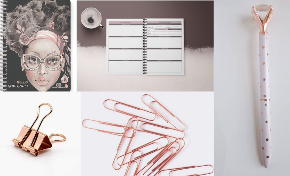 Brown Inspiration, Black-owned stationary and office supplies