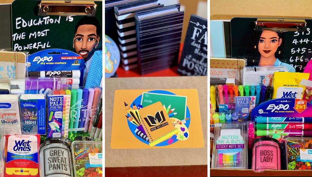 Moe Melanin, Black-owned school & office supplies