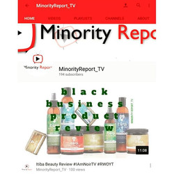 6 SUBSCRIBERS AWAY FROM 200! If you have not subscribed to the#MinorityReportYouTube channel, g