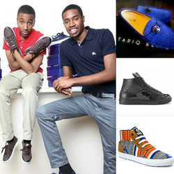 Black owned shoe brands you need to #Follow! _stepsbystephens _tariqelite _gnosticjungle _therealmrh