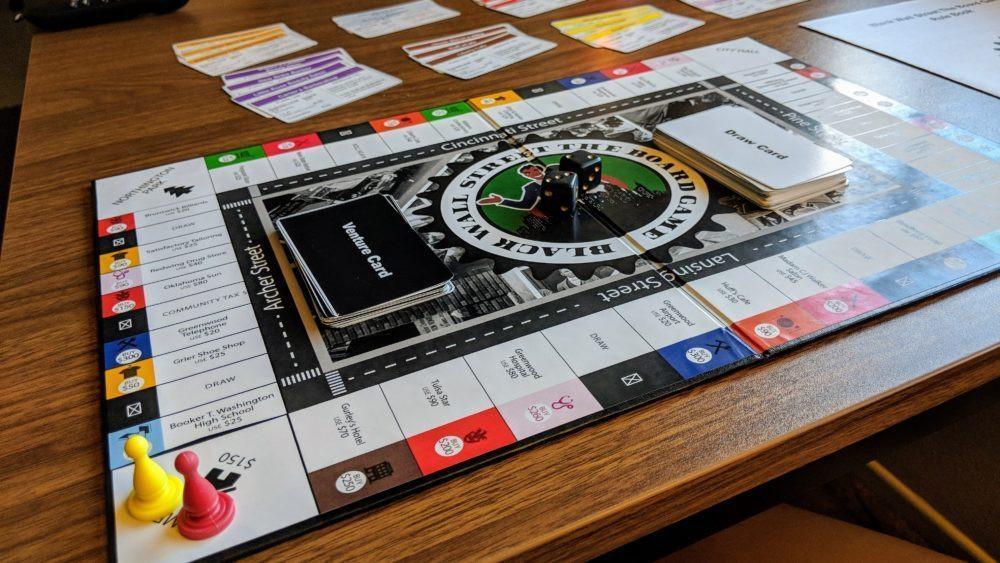 Black Wall Street Board Game