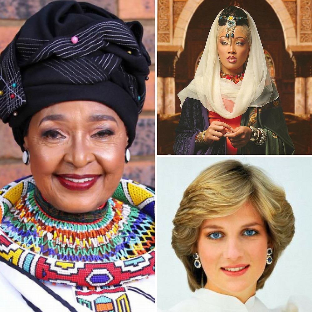Mama Winnie, Queen Esther, Princess Di