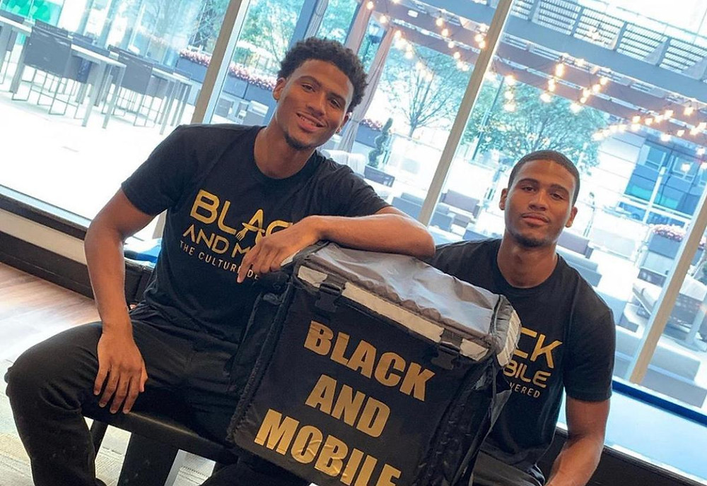 Black and Mobile, Black-owned food delivery service