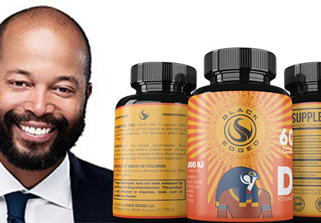 Founder of Black-Owned Vitamin D Supplement Brand Caters to Black People Worldwide
