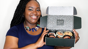 Black Travel Box, Perfect On-the-Go Hair and Skincare Products
