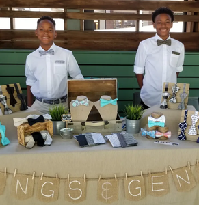 Kings and Gents, Black-owned bow ties and accessories for boys made by boys