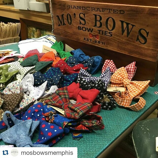 Today's #BlackBizBlast goes to _mosbowsmemphis! This young man is changing the neckwear game