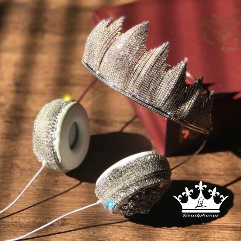 Lit Headphones, Black-owned tiara headphones