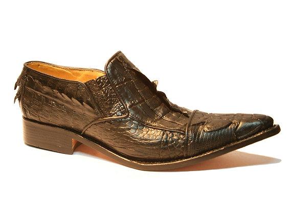 Crocodile mixed Lizard Dress Shoe for Men