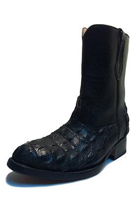 Crocodile mixed Lizard Roper Western Boot