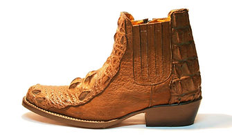 Crocodile Men Ankle Boot