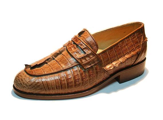 Crocodile Loafer Shoe for Men